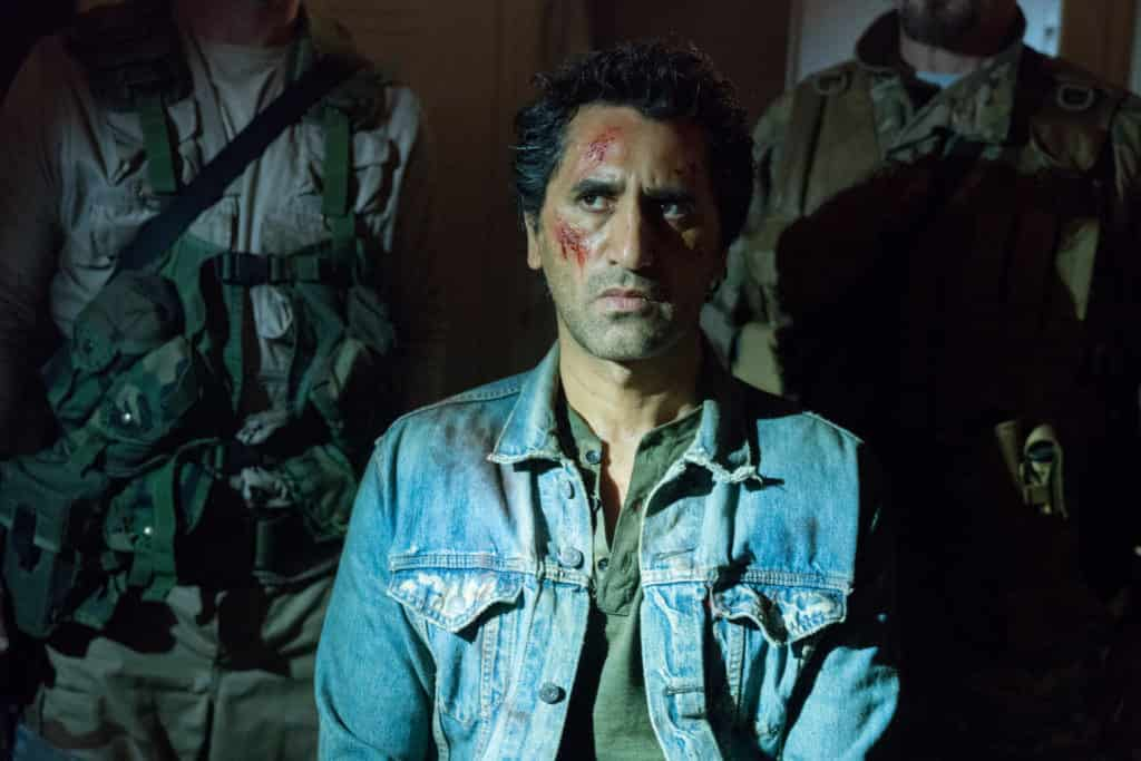 Cliff Curtis as Travis Manawa - Fear the Walking Dead _ Season 3, Episode 1 - Photo Credit: Michael Desmond/AMC