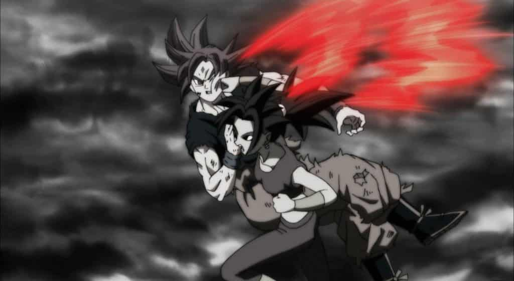 This punch here from Kefla against Goku means trouble for our hero