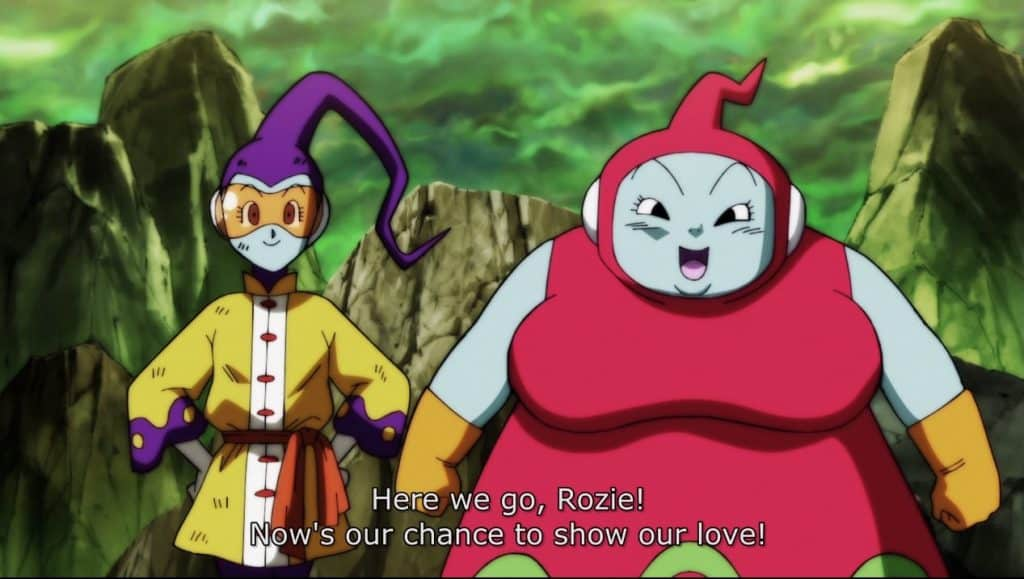 Ribrianne and Rozie are ready to spread their love! - Dragon Ball Super Episode 117 Review