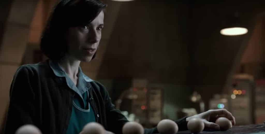 Sally Hawkins plays Elisa in The Shape Of Water - The Shape Of Water Review