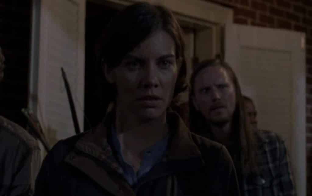Maggie is played by Lauren Chohan - The Walking Dead: Do Not Send Us Astray Review