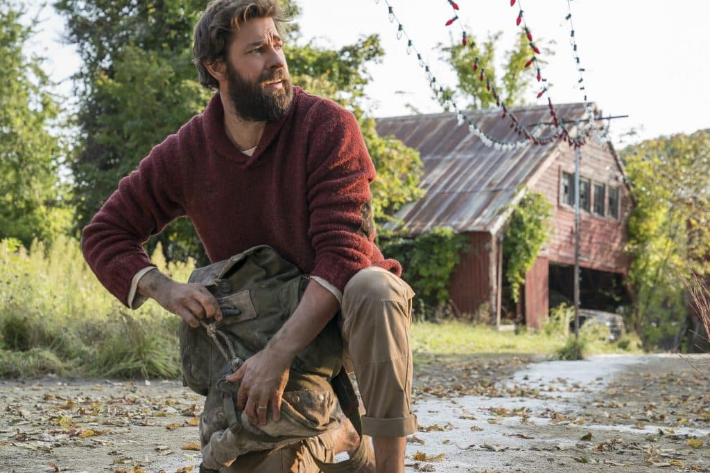 John Krasinski plays Lee Abbott in A QUIET PLACE, from Paramount Pictures - A Quiet Place Review