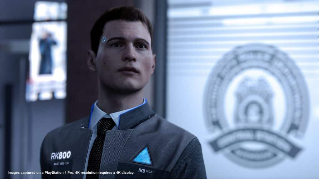 Connor is one of the characters you will play as - Detroit: Become Human Review