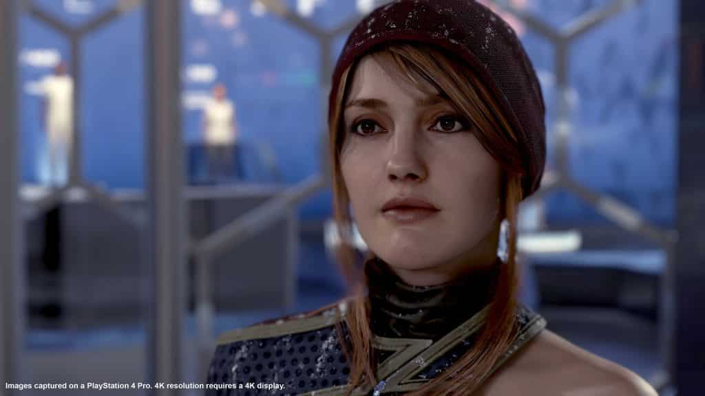 North is one of the characters you will encounter and get to know in the Markus storyline - Detroit: Become Human