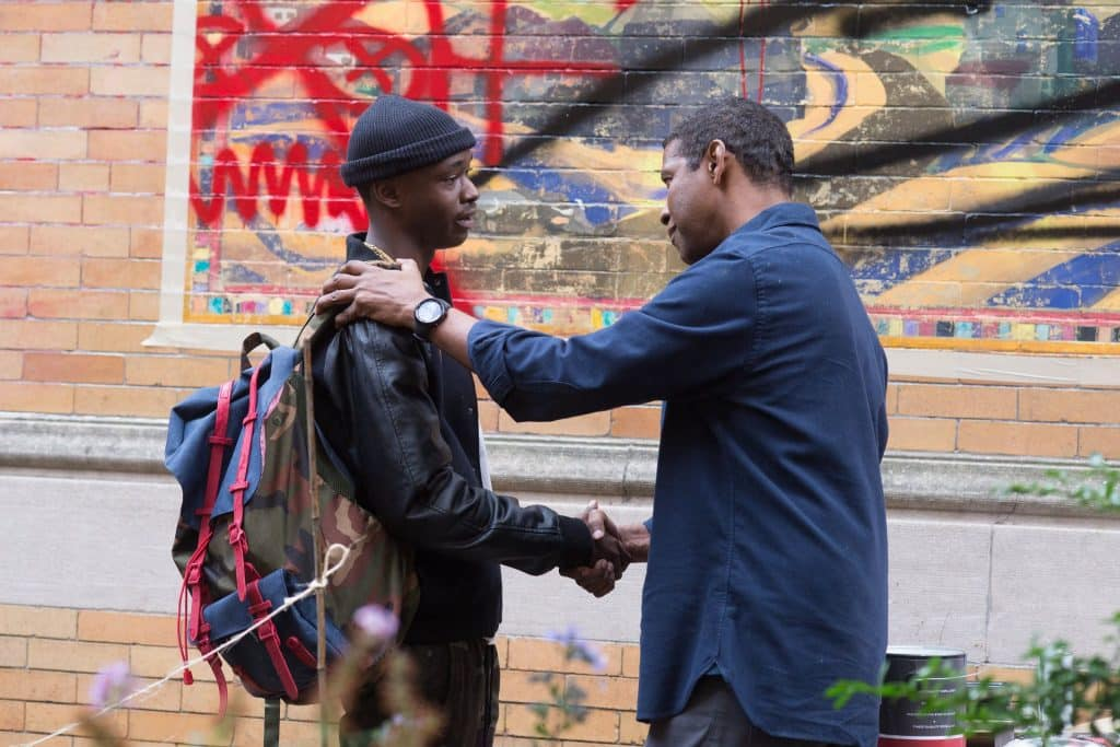 The Equalizer 2 Review - Ashton Sanders and Denzel Washington