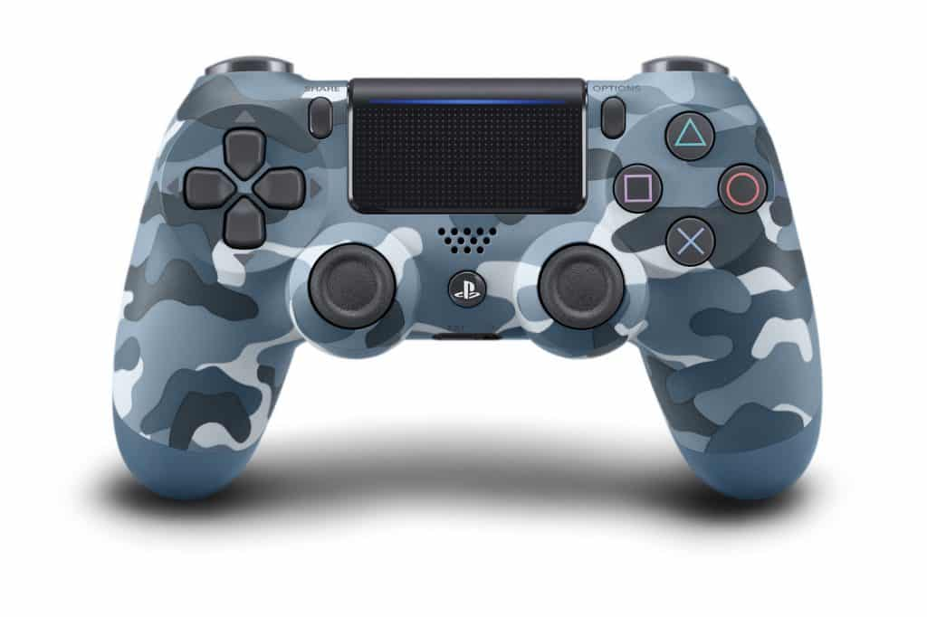 Blue Camoflauge PS4