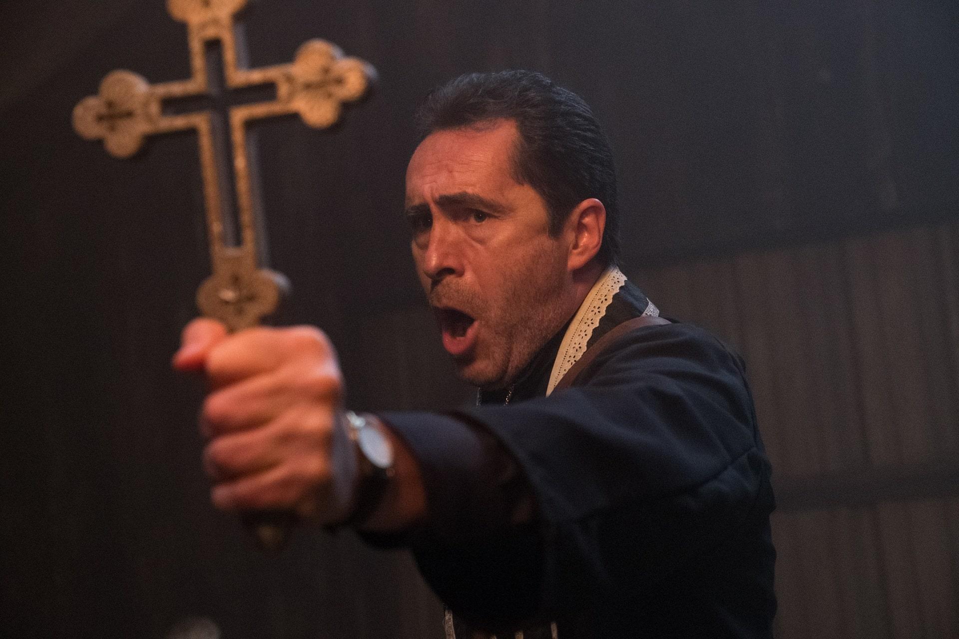 Demián Bichir plays Father Burke - The Nun Review