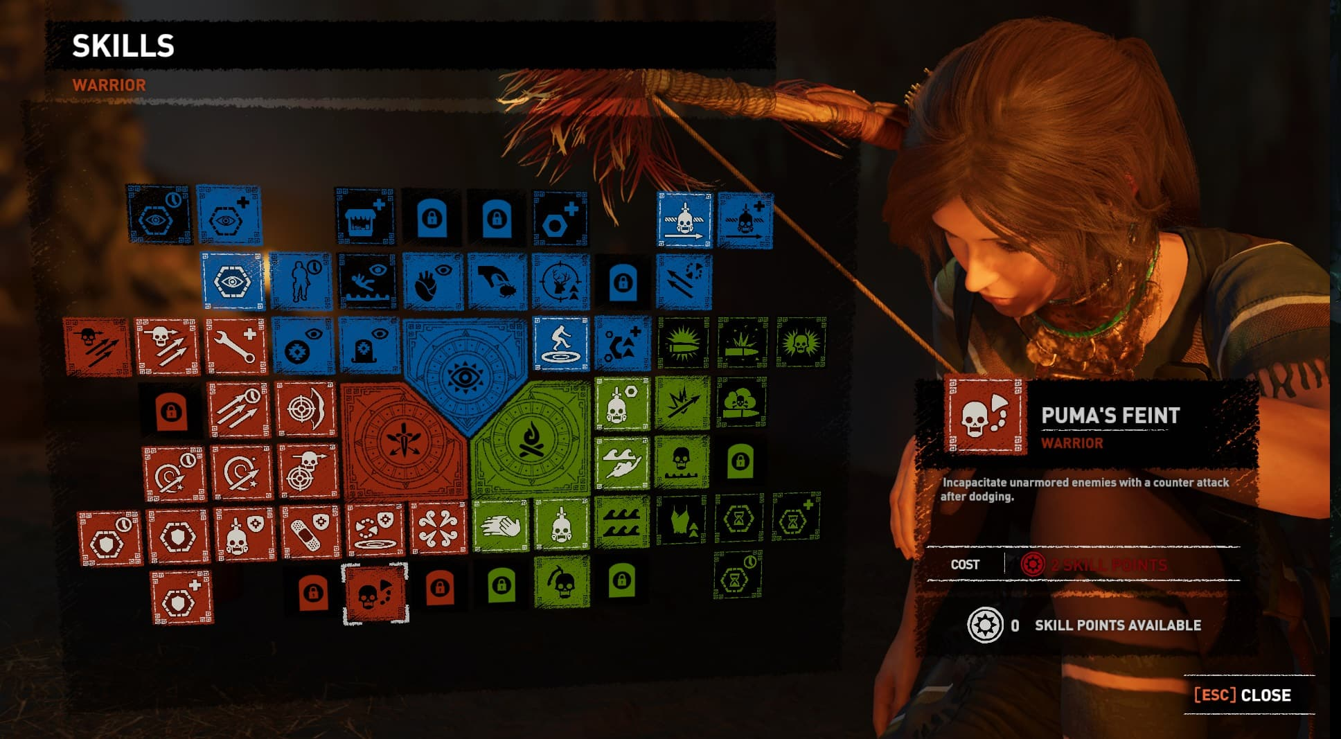 Shadow Of The Tomb Raider's ability upgrade system