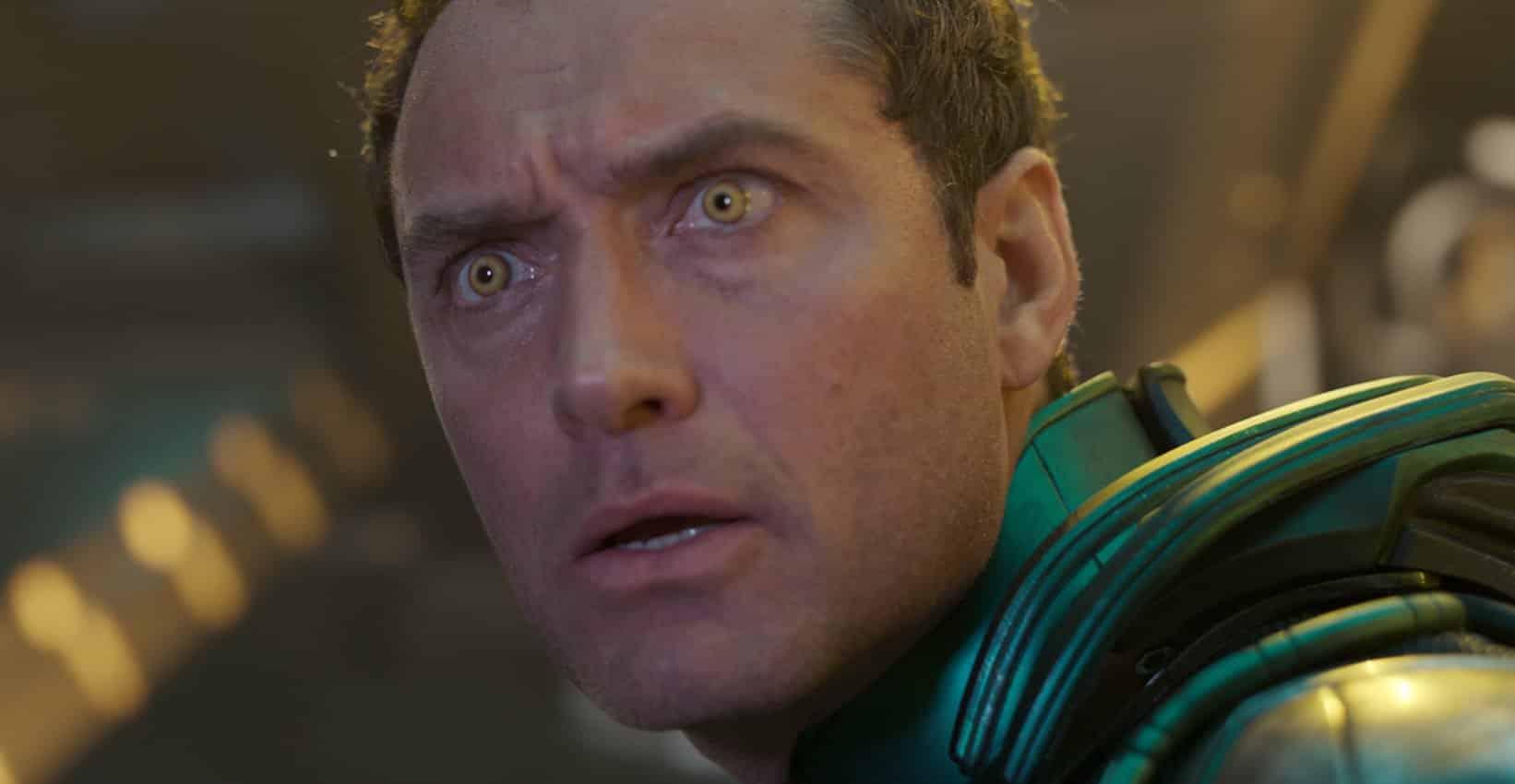 Marvel Studios' CAPTAIN MARVEL..Starforce Leader (Jude Law) ..Photo: Film Frame..©Marvel Studios 2019