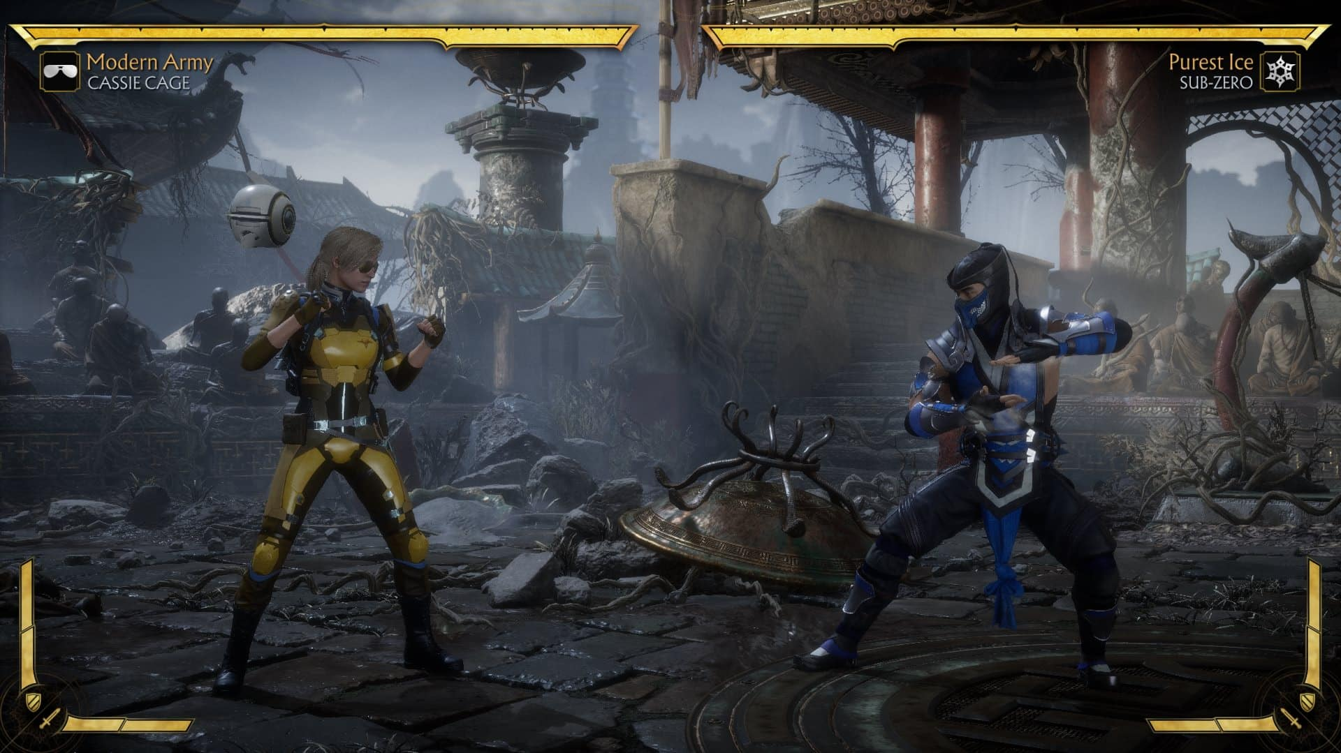 Mortal Kombat 11 fighting environment - Mortal Kombat 11 Review
