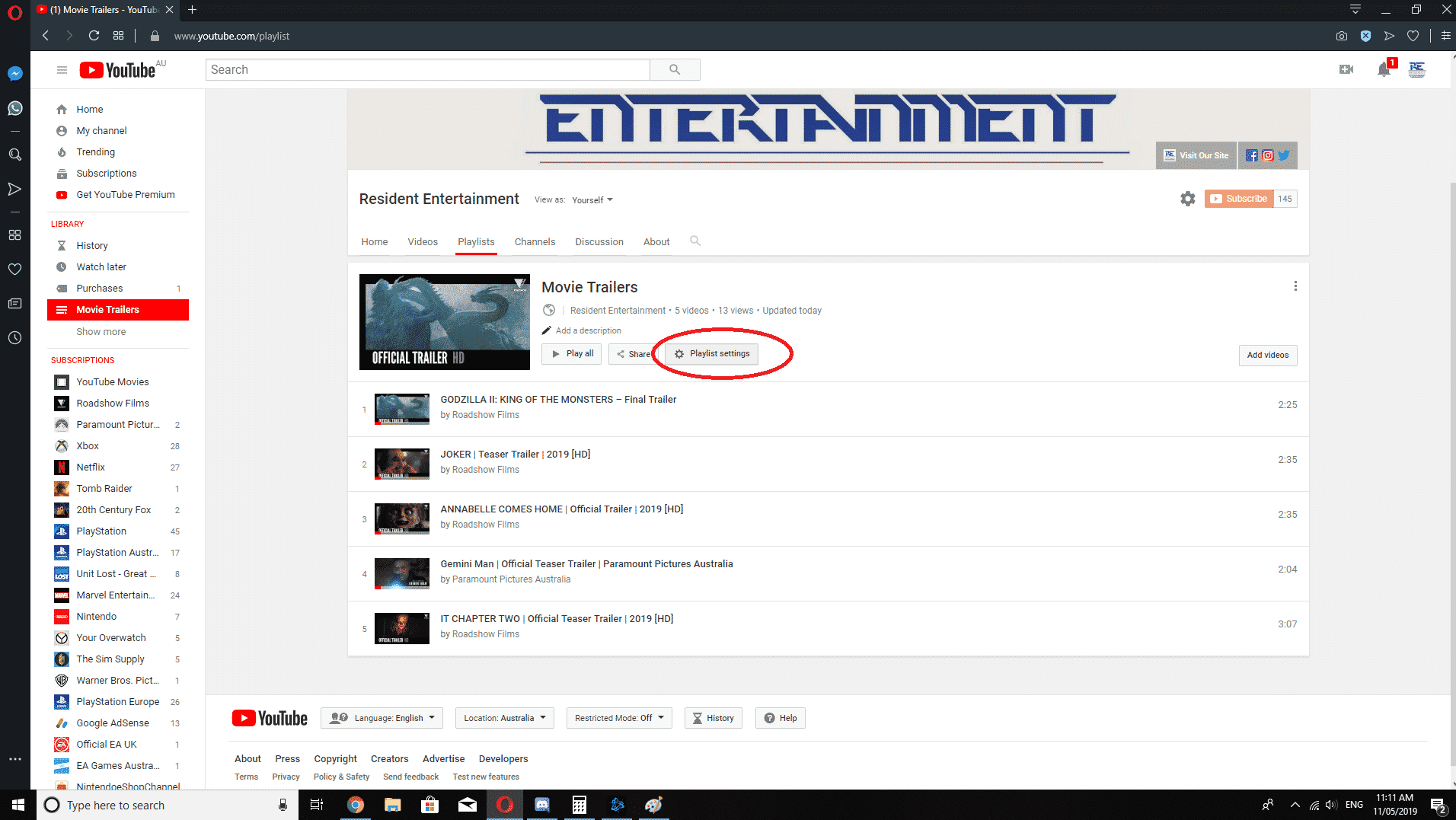 How To Change YouTube Playlist Order Step 6