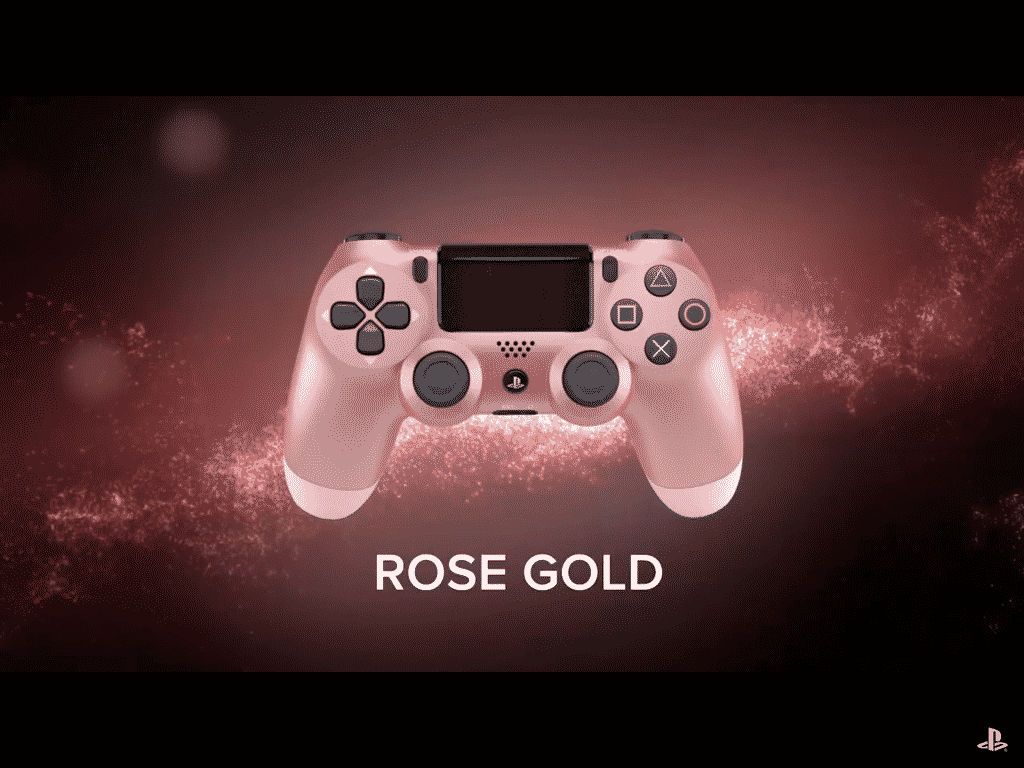 Rose Gold PS4 Control
